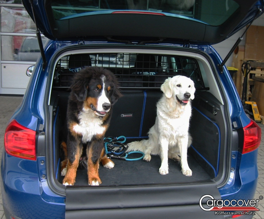 Kofferraumschutzdecke für VW Volkswagen Tiguan 2 Geländewagen SUV 5-türer 01.16